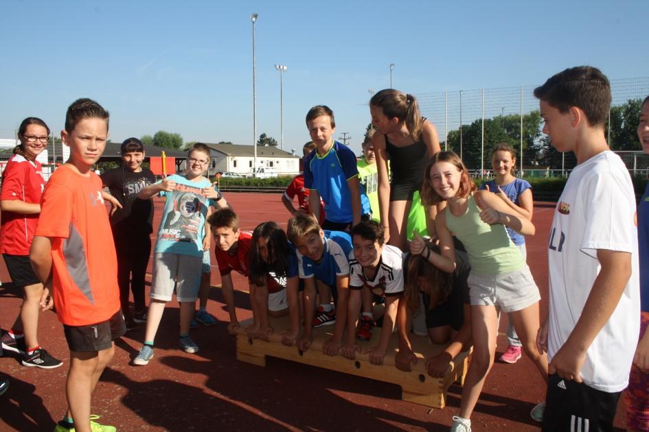 Sportfest der KRS im Schuljahr 2015/16