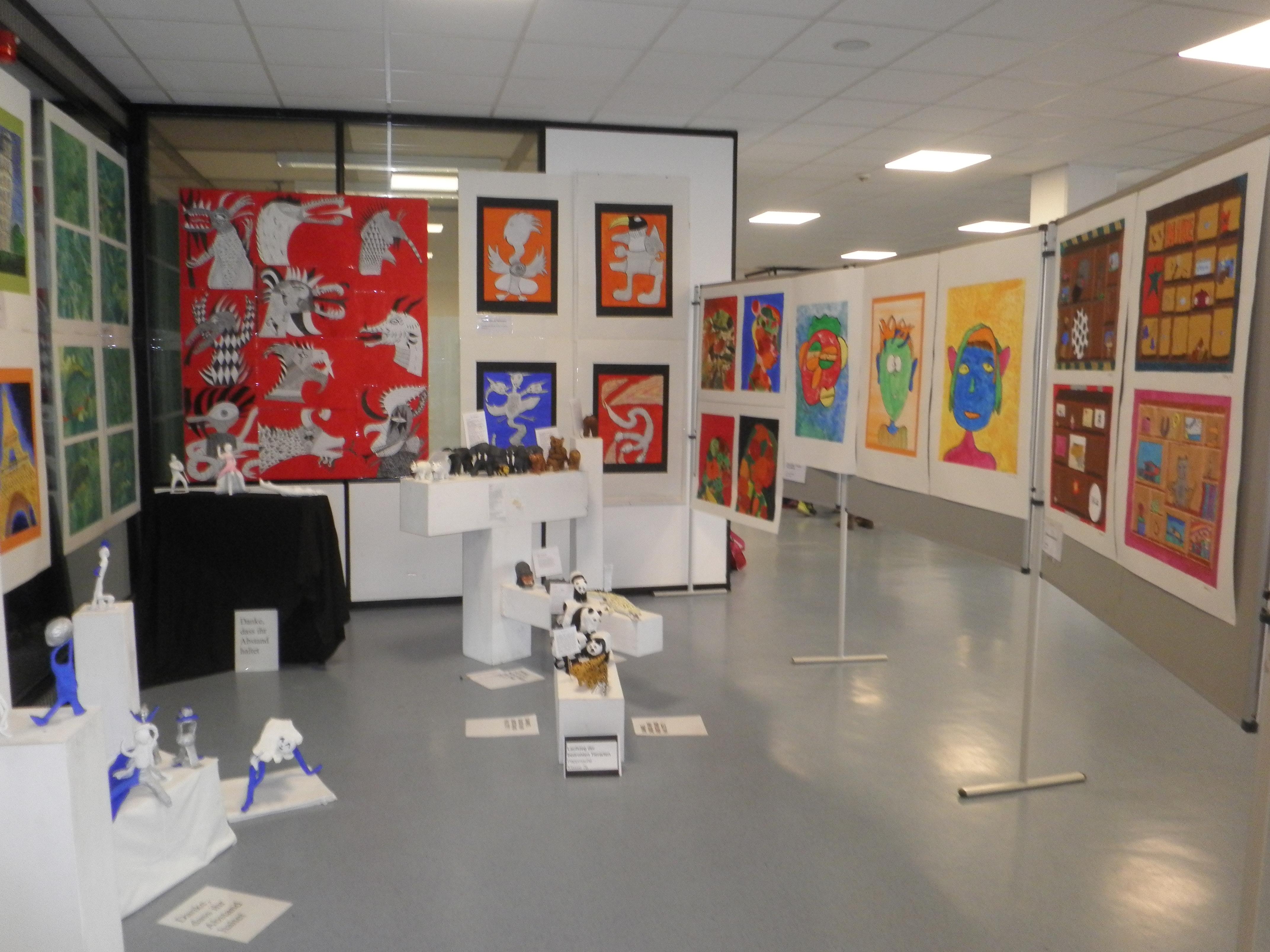 Eröffnung der Jahreskunstausstellung der KRS
